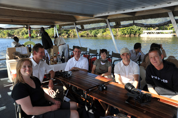 The Germans on the Chobe River Cruise