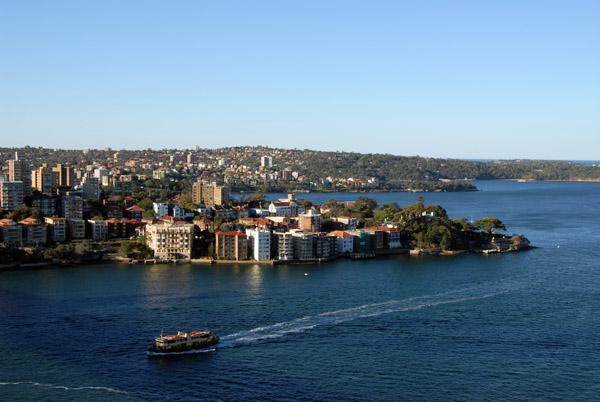Kirribilli from the South Tower, Sydney Harbour Bridge