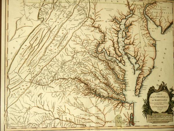 Map Of Colonial Virginia And Maryland Photo Brian Mcmorrow Photos