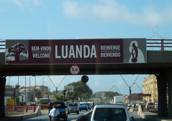 Welcome to Luanda - the worlds largest Portuguese-speaking city after São Paulo and Rio
