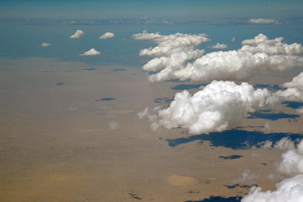 Desert of northwestern Uzbekistan