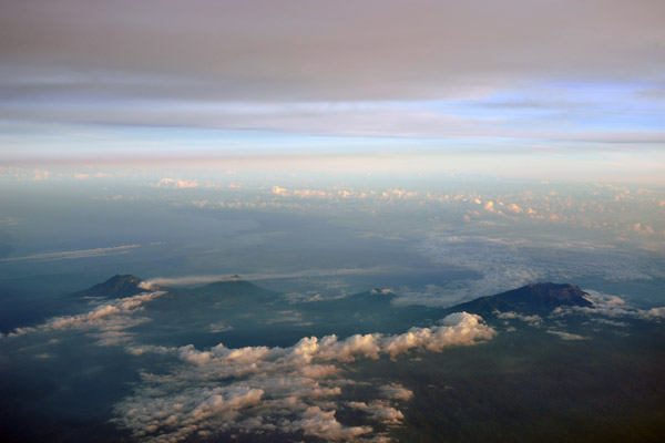 The volcanoes of Eastern Java, Indonesia