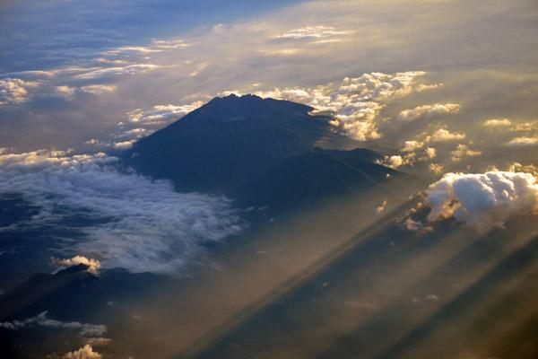 Sunset, Gunung Raung, Eastern Java