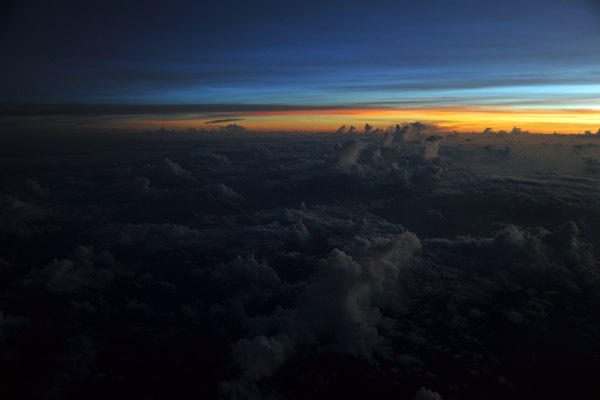 Dawn off the south coast of Timor