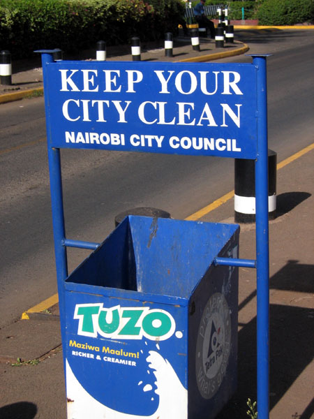 keep your city clean and green