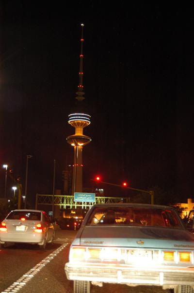 Entering Kuwait City