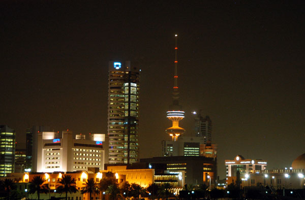 Central Kuwait City and Liberation Tower