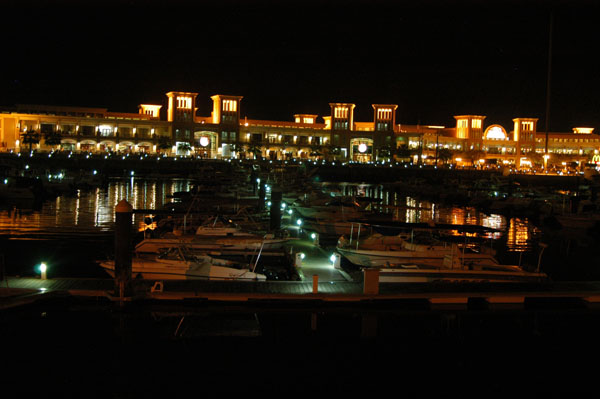 Shark Market and marina