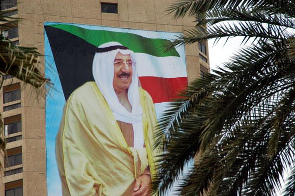 Sheikh Sabah al-Ahmad al-Jaber al-Sabah, the new Emir