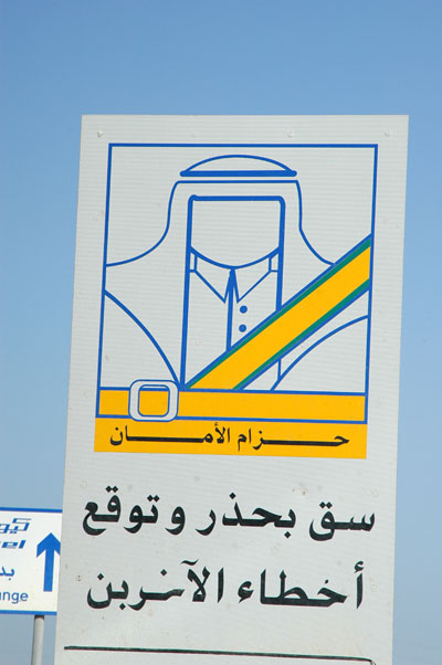 Seat Belts: Drive cautiously and anticipate dangers