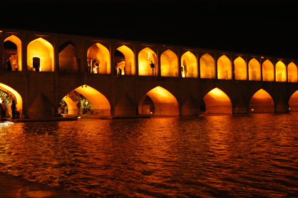 Bridge of the 33 Arches over the Zayandeh River, Isfahan