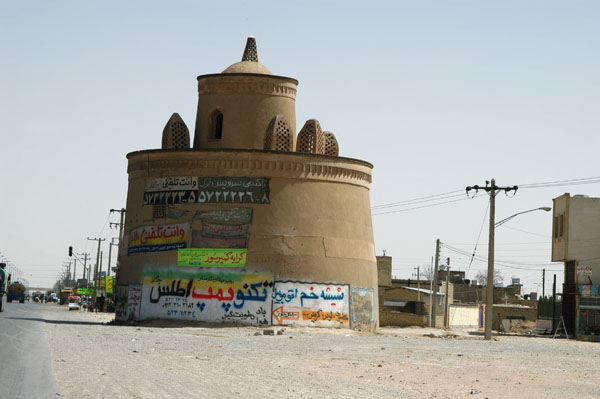 Pigeon tower outside Isfahan on the road to Yazd