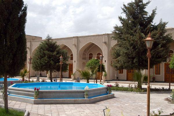Naein Tourist Inn, built in the style of a caravanserai