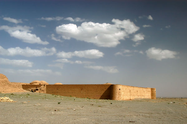Shah Abbas the Great built a system of 999 caravanserais in Persia