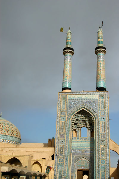 Cloudy morning in Yazd