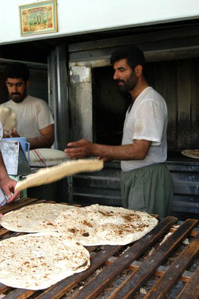 Iranian bakery