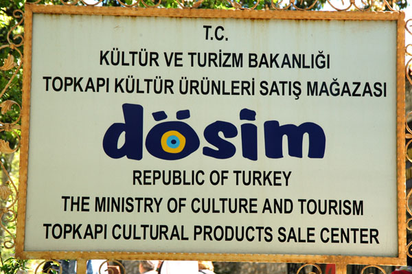 Dösim, Republic of Turkey Ministry of Culture and Tourism