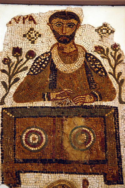 Second part of of the double tomb representing a scribe, Tabarka, 4th C. AD