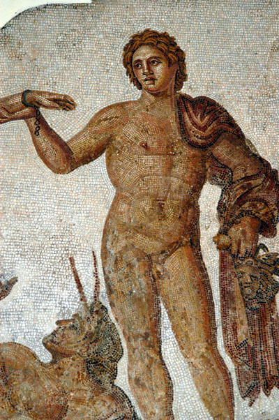 Perseus holding a Gorgons head, 3rd C. AD