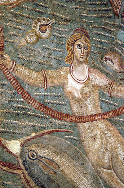 Nereid (Sea Nymph) Garden Room, 3rd C AD Carthage