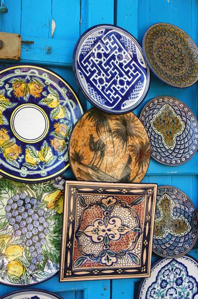 Tunisian ceramic wares