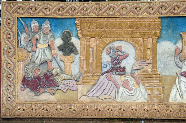 Histroic scenes, Kasserine - the Arab invasion