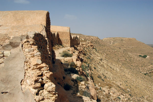Ksar Jouamaa sits on a high ridge