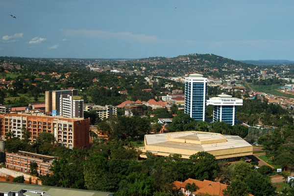 Central Kampala, east of the Sheraton