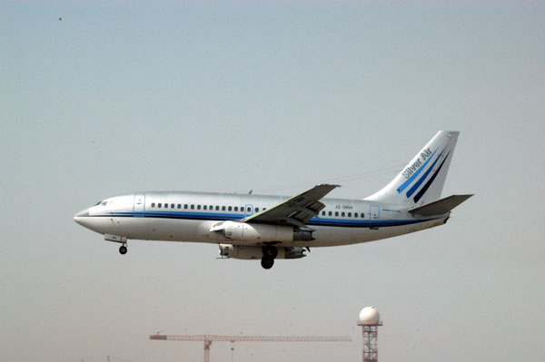 Silver Air 737 flying for Iraqi Airlines J2-SRH