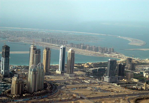 Dubai Marina and Palm Jumeirah, 2006