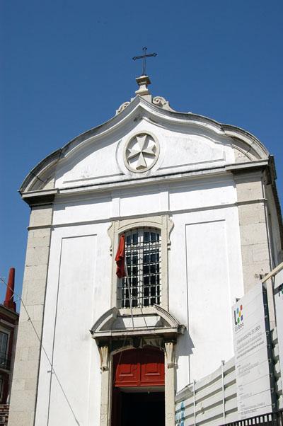 Maltese church the Igreja de Santa Luzia