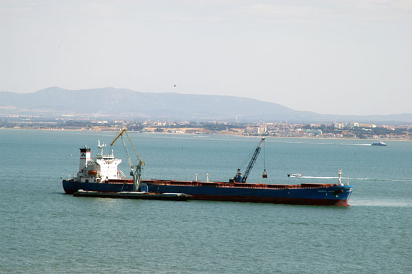 MV Anangel Galini (39941 GRT) at Lisbon