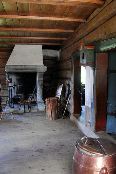 Anders cottage 1777 Bjørnstad-Hof, Maihaugen