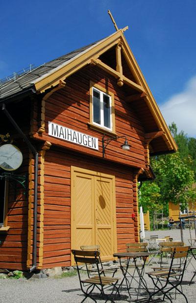 Maihaugen Railway Station