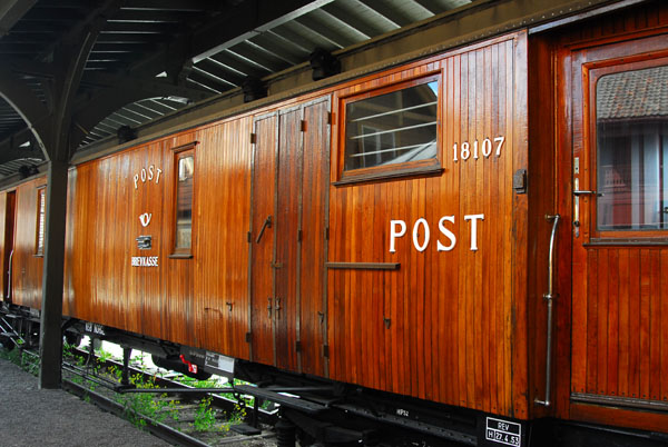 Carriage of the Norwegian Postal Service