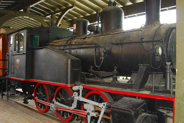 Steam locomotive 443 Thunes Mekaniske Værksted 1923
