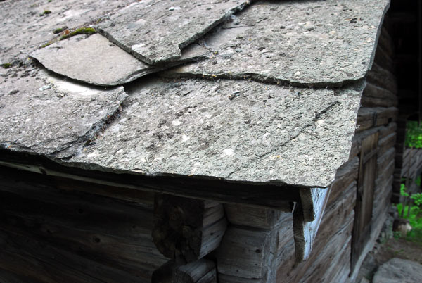 Slate roof, Maihaugen