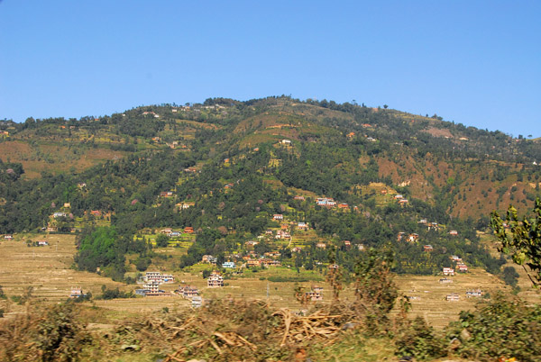 Hillside, west end of Kathmandu Valley