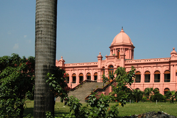 Ahsan Manzil is along the river just upstream from the chaos of Sadar Ghat Terminal