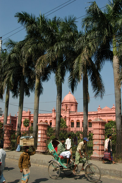 Ahsan Manzil, the pink palace, Dhaka