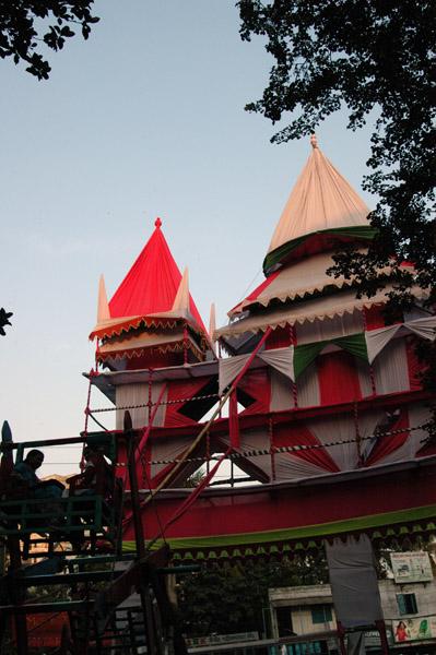 Festival gate, Hindu Street, Dhaka