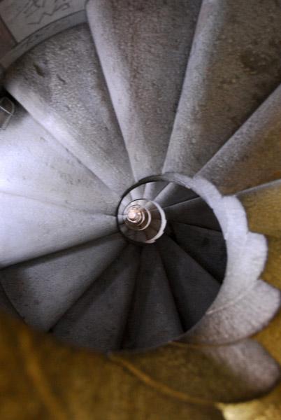 Spiral staircase, Sagrada Família
