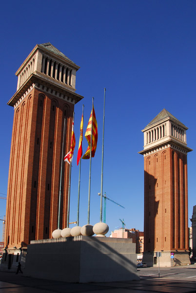 Venetian Towers, built for the 1929 International Exhibition