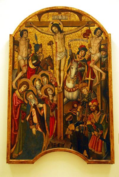 Calvary; Pau Vergós, ca 1492