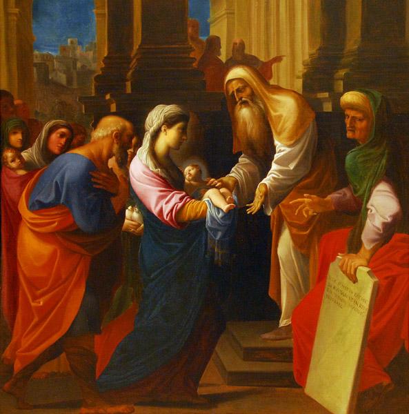 Presentation of the Boy at the Temple; Ludovico Carracci ca 1605