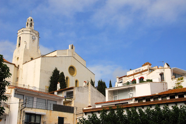 Cadaqués - Church of Santa Maria, 16th C.