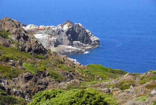Rocky point on the south side of Cap de Creus