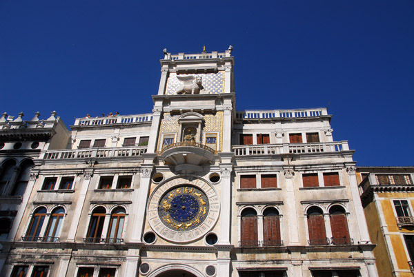 St. Marks Clocktower on St. Marks Square