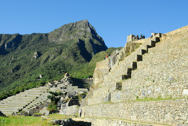 Terraces along the Central Plaza, Machu Picchu