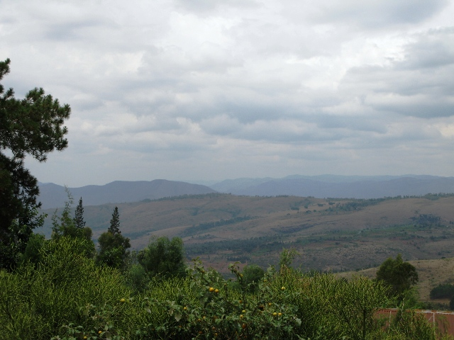 Burundi rural scene
